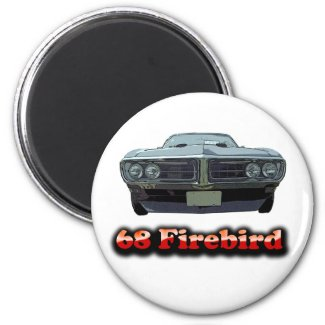 1968 Firebird Magnet magnet