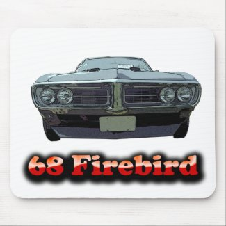 1968 Firebird Mouse Pad mousepad