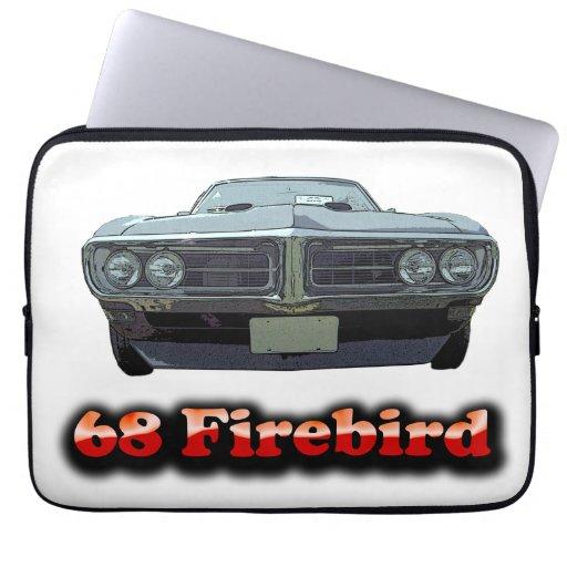 1968 Firebird Neoprene Laptop Sleeve 13 inch
