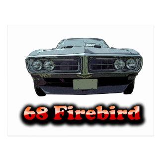 1968 Firebird Postcard