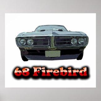 1968 Firebird Poster print