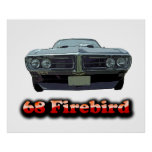 1968 Firebird Poster