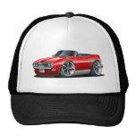 1968 Firebird Red Convertible Trucker Hats