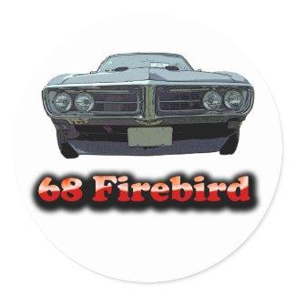 1968 Firebird Sticker sticker