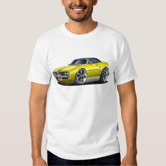 1968 Firebird Yellow-Black Car T-Shirt
