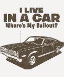 1968 Ford Mercury Cyclone 428 Cobra Jet T Shirts