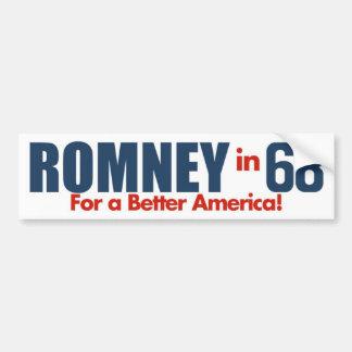 1968 George Romney Vintage Bumper Sticker