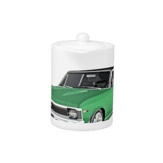 1968 Green Muscle Car Teapot