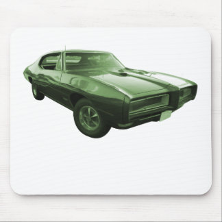 1968 GTO Muscle Car Mouse Pad