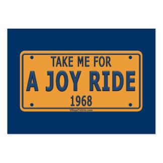 1968 Joy Ride Car Business Card