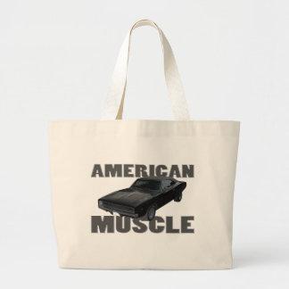 1968 músculo del americano del cargador r/t del re bolsa tela grande