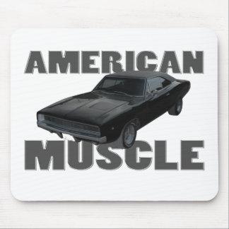 1968 músculo del americano del cargador r t del re tapetes de ratón