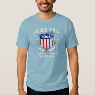 1968 Olds 442 American Muscle v3 Tee Shirt