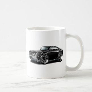 1968 Olds 442  Black Car Coffee Mug