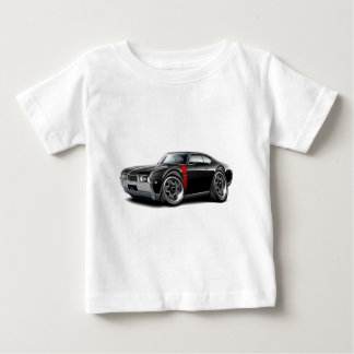 1968 Olds 442  Black-Red Car Baby T-Shirt