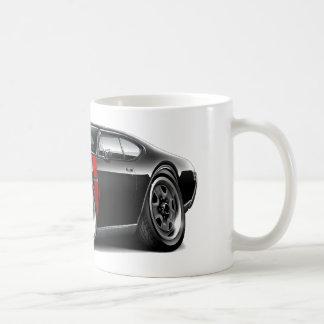 1968 Olds 442  Black-Red Car Mug