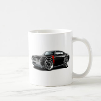 1968 Olds 442  Black-Red Car Mugs