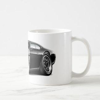 1968 Olds 442  Black-White Car Mugs