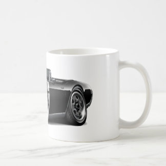 1968 Olds 442  Black-White Convertible Coffee Mugs