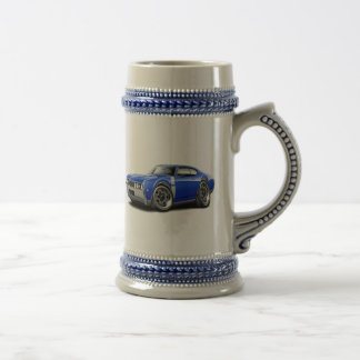 1968 Olds 442 Blue-White Car Beer Stein