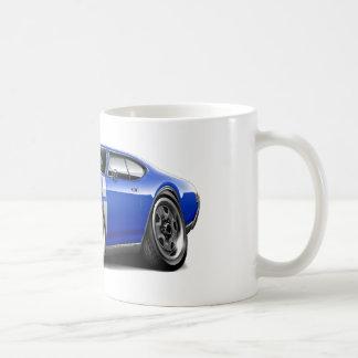 1968 Olds 442 Blue-White Car Coffee Mugs