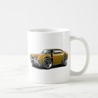 1968 Olds 442 Gold-Black Car Mug