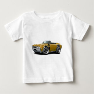 1968 Olds 442 Gold-Black Convertible Baby T-Shirt