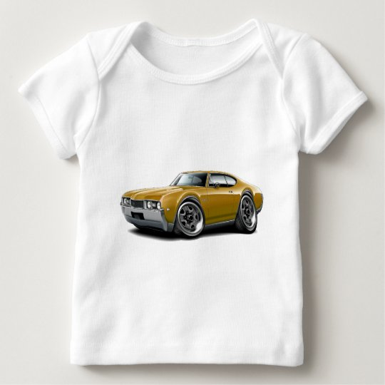 1968 Olds 442 Gold Car Baby T-Shirt