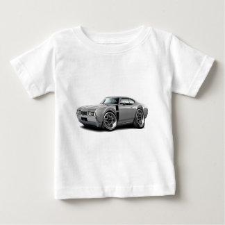 1968 Olds 442 Grey-Black Car Baby T-Shirt