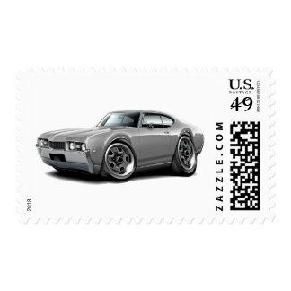 1968 Olds 442 Grey Car Postage