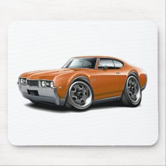 1968 Olds 442 Orange Car Mouse Pad