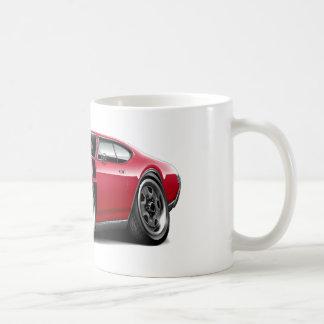 1968 Olds 442 Red-Black Car Coffee Mug