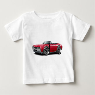 1968 Olds 442 Red-Black Convertible Baby T-Shirt