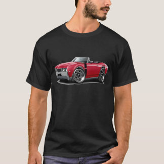 1968 Olds 442 Red-Black Convertible T-Shirt
