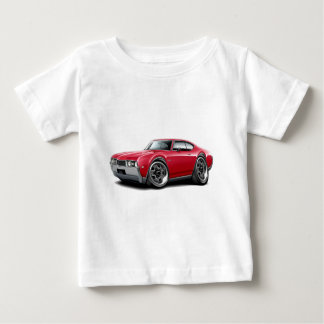 1968 Olds 442 Red Car Baby T-Shirt