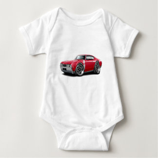 1968 Olds 442 Red-White Car Tees