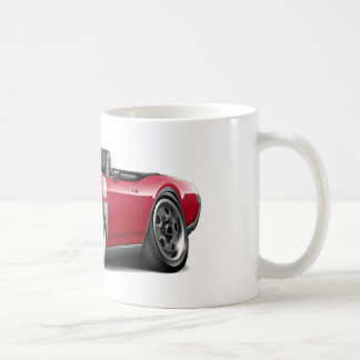 1968 Olds 442 Red-White Convertible Mugs