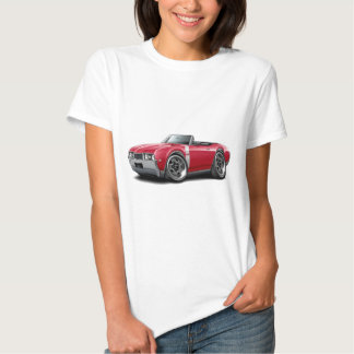 1968 Olds 442 Red-White Convertible Shirt