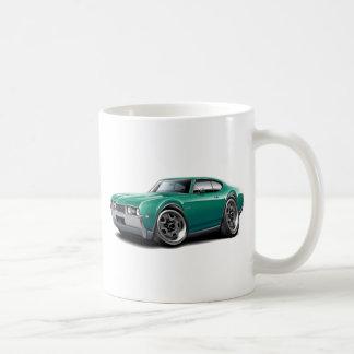 1968 Olds 442 Teal Car Coffee Mug