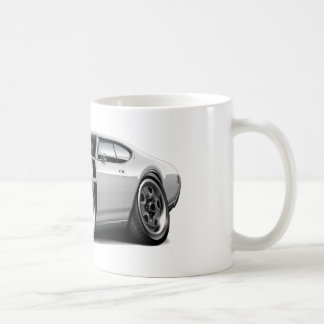 1968 Olds 442 White-Black Car Mugs