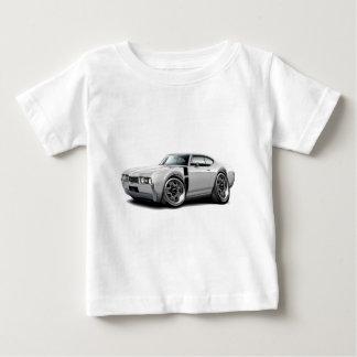 1968 Olds 442 White-Black Car Tee Shirt