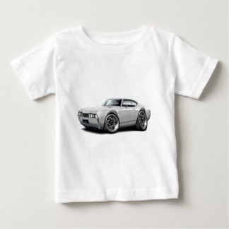 1968 Olds 442 White Car Baby T-Shirt