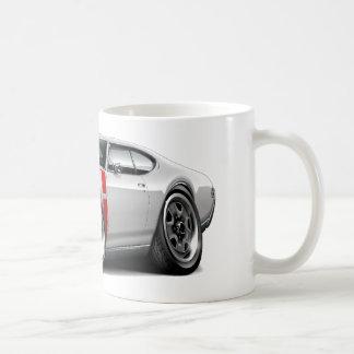 1968 Olds 442 White-Red Car Coffee Mug