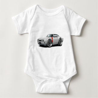 1968 Olds 442 White-Red Car T Shirt