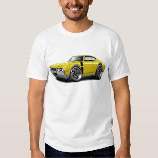 1968 Olds 442 Yellow-Black Car Shirt