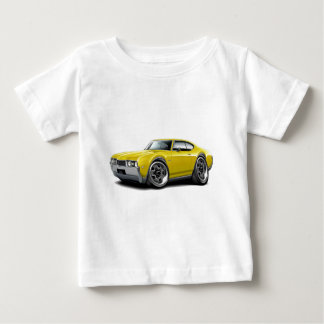 1968 Olds 442 Yellow Car Baby T-Shirt