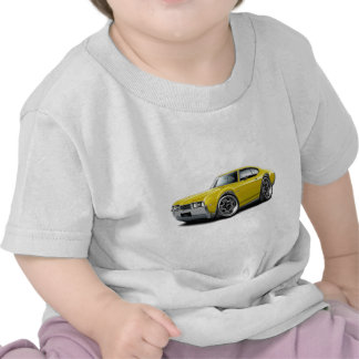 1968 Olds 442 Yellow Car Tshirts
