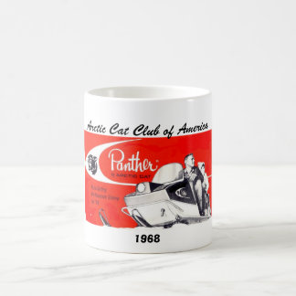 1968 Panther, 1968, Arctic Cat Club of America Coffee Mug