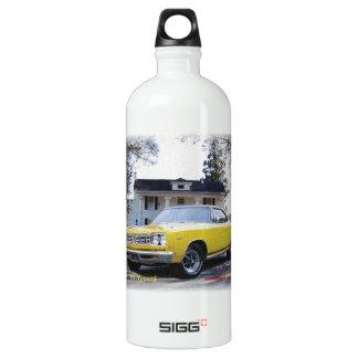 1968_Plymouth_2_Door Water Bottle