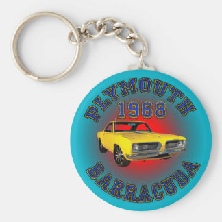 1968 Plymouth Barracuda Keychain. Keychain